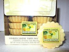 "Box Lot of 24 Yankee Candle Retired ""COUNTRY LEMONADE"" Tarts Wax Melts ~ RARE"