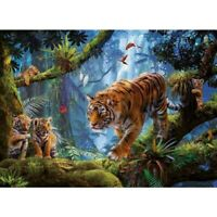 DIY 5D Full Drill Diamond Painting kit Tiger Cross Stitch Embroidery Home Decor
