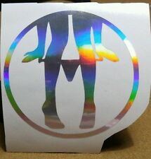 "4"" Panty dropper decal jdm stance static kdm  camber buy2 get 1free oilslick"