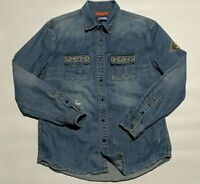 Desigual mens denim shirt