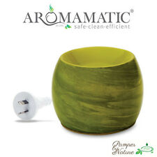 Aromamatic Seagrass Green Coral-Vaporizer - For Essential Oils & Soy Wax Melts