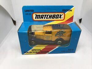 Matchbox MB38 Ford Model A VAN COMIC DELIVERY VAN Unopened