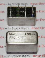 PSC-2-1   MFR: MCL  PLUG-IN POWER SPLITTER/COMBINER