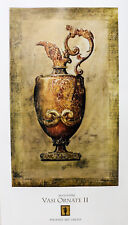"""""""Vasi Ornate II"""" by Augustine 36x22"""" Reproduction"""
