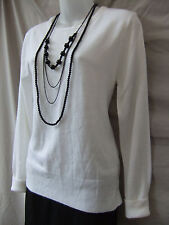 Atmosphere Size 10 Top Jumper NEW Knit Cream Work Casual Evening FREE POST