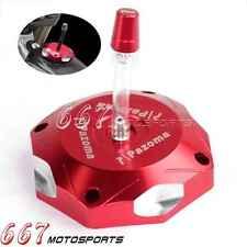 Motorcycle Red CNC Aluminum Fuel Gas Cap For Honda CRF450R 2002-2015 2013 2014