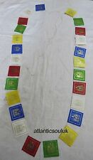 PF12 Traditional Lokta paper windhorse Buddha indoor 25 Prayer Flags Nepal Tibet