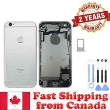 Silver Back Housing Mid Frame with Cables, Parts for iPhone 6S A1633 A1688 A1700