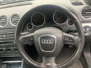 Audi A4 B7 Steering Wheel S Line Red Stitching  2005-2009