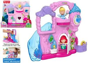 Fisher-Price Little People Disney Princess Play Go Castle Ages 2+ Toy Doll House