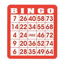 Reusable Bingo Cards (Pkg. 50)