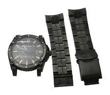 Bulova Mens 98B142 Precisionist Black Stainless Steel Band 300M Date Watch