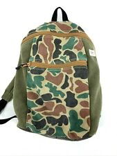 Urban Outfitters Spurling Lakes Distressed Camo Backpack