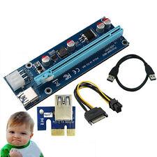 USB3.0 Version PCI Express 1x to 16x riser Expansion Board für ETH GPU Mining