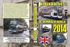 2945. Cambridge. UK. Buses. September 2014. From the midst of an Indian summer t
