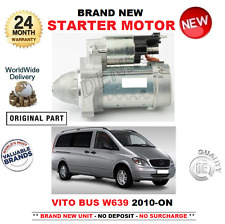 FOR MERCEDES BENZ VITO BUS W639 STARTER MOTOR 2010-  110 113 116 CDi 4x4