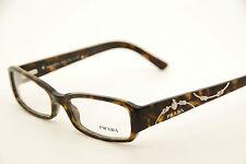 9f133046da New Authentic Prada VPR15L 2AU-1O1 Havana 51mm Frames Eyeglasses RX Italy  w Case