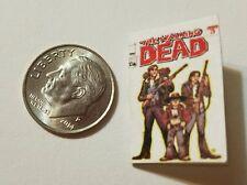 Miniature book 1/12 Walking Dead Comic Book Tv show Darryl Negan Michonne Z