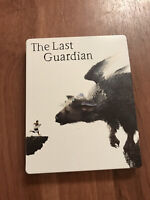 Last Guardian (Sony PlayStation 4, 2016) PS4 [Steelbook case] + Game