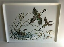 Vintage Flying Ducks Serving Tray Italian Walden Press Giovanni Trimboli Nature
