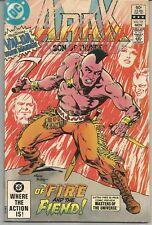 Arak #15 : November 1982 : DC Comics