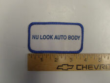 Nu Look Auto Body Patch Sew On Applique Embroidered Mechanic Shop Cool Rare Car