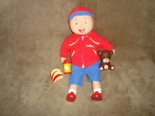 "Caillou Best Friend Talking 16"" plush and Plastic Doll 2016 DHX Cookie Jar"