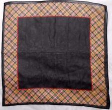 "Worthington Ladies Polyester Scarf 20"" X 20"" Plaid"