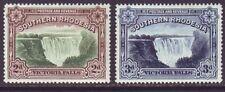 Southern Rhodesia 1935 SC 37-37A MH Set Victoria Falls