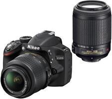 Nikon D3200 24.2MP Digital SLR Camera - Black (Kit w/ AF-S DX ED II 18-55mm)