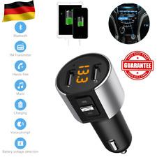 Bluetooth FM Transmitter Auto MP3 Player USB Stick KFZ SD AUX Freisprechanlage D