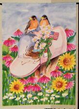 You'Ve Got Mail Bird Nest Flower Spring Summer Mini Window Garden Yard Flag New