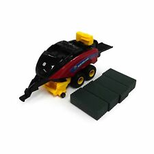 NEW HOLLAND 340 BIG SQUARE BALER With  BALES 1:64 Scale ERTL