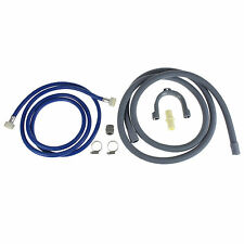 Washing Machine Fill Water Hose, Waste Drain Hose Extension Kit For Samsung 2.5m