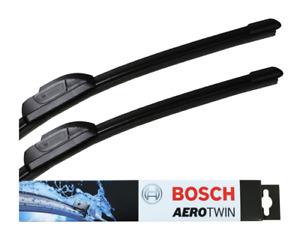 Alfa Romeo GT Front Windscreen Wiper Blade Set 2003 to 2005 BOSCH AEROTWIN