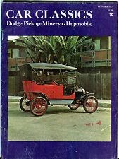 Car Classics Magazine June 1977 The Classic Lincolns EX 060916jhe
