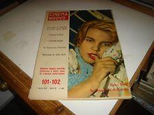 M.MONROE J.DEAN E.PRESLEY su rivista CINEMA NUOVO N.101/102 - 1 MARZO 1957