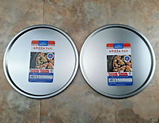 Pizza Baking Pans Set Of 2 Even Heating 1275 Golden Crust Pizza Tins Oven Trays