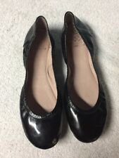 Vince Camuto Women's Black Slip On Ballerina Slippers Shoes Size Sz 9.5 M