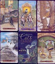 """WORLD LOCAL PLAYING CARD """" MYSTICAL CATS TAROT """"JEU DE CARTES,NAIPES,KARTENSPIEL"""