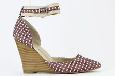Sole Society by Julianne Hough Caity Ankle Strap Wedge Size 7.5B