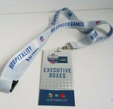 NFL London Games 2017 Minnesota Vikings Cleveland Browns Hospitality Lanyard
