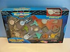 1993 Galoob Star Trek Micro Machines Limited Edition Collector Set 16 Ships
