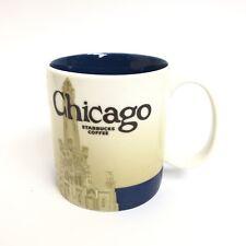 Starbucks 2011 Chicago Global Icon Collector Series City Coffee Mug 16 oz