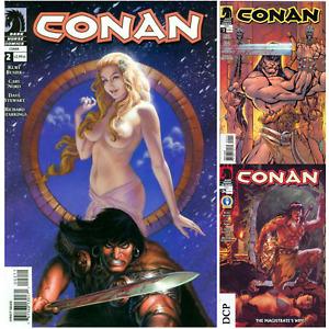 Conan U PICK comic 1-50 24 Nude var 2004 Dark Horse unsold stock VOLUME Discount