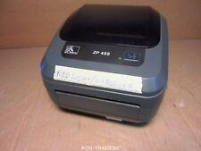 ZEBRA ZP455 Direct Thermo Label Printer USB + LAN 203Dpi RED LIGHT BLINKING