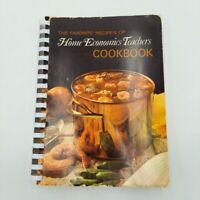 Favorite Recipes of Home Economics Teachers Vintage Cookbook 1970 Spiral Bound