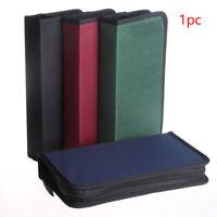80 CD DVD Disc Disk Carry Case Folder Bag Storage Folder Ring Binder Organizer