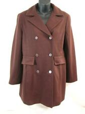 BCBG MAX AZRIA COLLECTION Stretch Knit JACKET Sz 4 Brown Short Trench Style