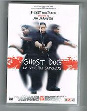 GHOST DOG - JIM JARMUSCH - FOREST WHITAKER - 1999 - DVD TRÈS BON ÉTAT